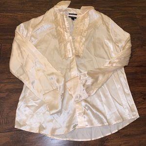 behnaz sarafpour silk blouse